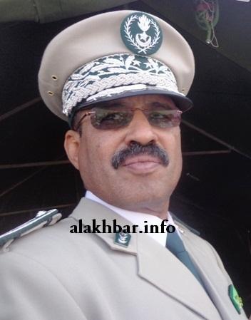 اللواء السلطان ولد أسود قائد أركان الدرك الوطني