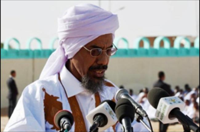 إمام الجامع الكبير في نواكشوط الشيخ أحمد ولد المرابط