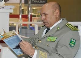 الفريق أول محمد ولد الغزوانى قائد الجيوش الموريتانية