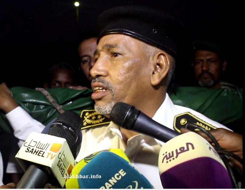 مدير أمن الدولة المفوض القاسم سيدي محمد