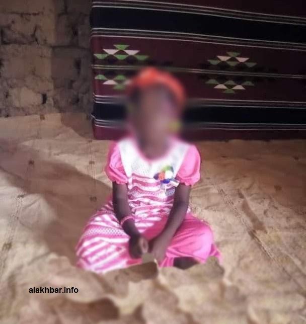 الطفلة التي تعرضت للاغتصاب قبل قتلها