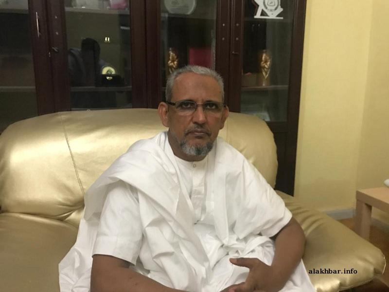 """رئيس حزب التجمع الوطني للإصلاح والتنمية """"تواصل"""" محمد محمود ولد سييدي"""