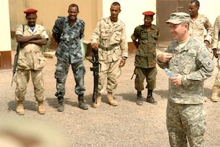 صورة لقوات أمريكية أثناء بعض التدريبات الخاصة