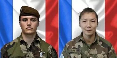 إيفون هوين ولويك ريسير الجنديان الفرنسيان القتيلان في مالي