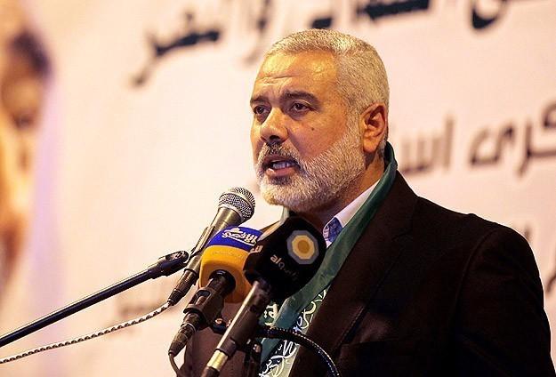 الدكتور إسماعيل  هنية قائد حركة المقاومة الإسلامية حماس