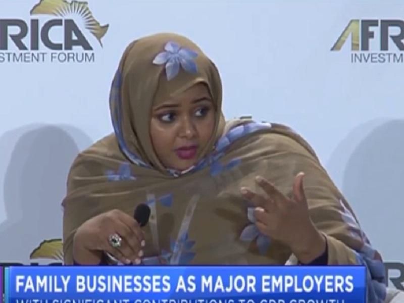 مديرة البنك الوطني لموريتانيا ليلى بوعماتو - (المصدر: CNBCAfrica)