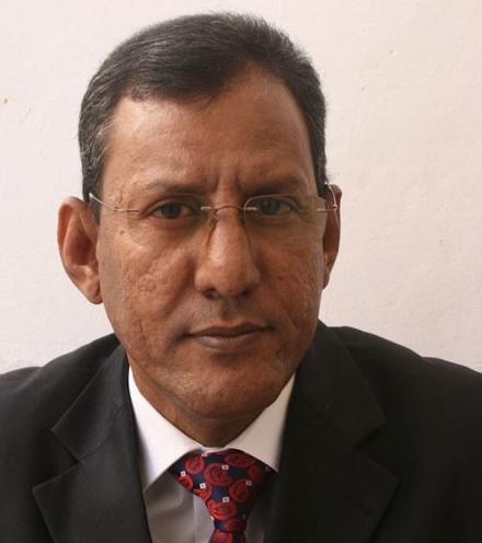 وزير الصحة الموريتاني أحمد ولد حدمين ولد جلفون