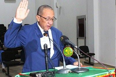 رئيس اللجنة الوطنية للمسابقات شيخنا ولد إدوم